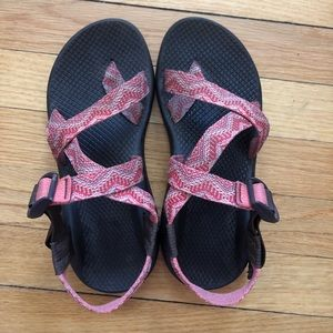 Coral pattern chacos